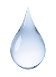 a water drop